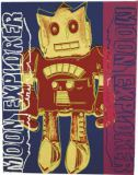 Andy Warhol - Moon Explorer Robot, 1983 (red and yellow)