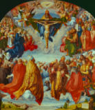 Albrecht Dürer - The Landauer Altarpiece, All Saints Day, 1511