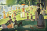 Georges Pierre Seurat - Sunday Afternoon on the Grande Jatte