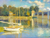 Claude Monet - Bridge at Argenteuil