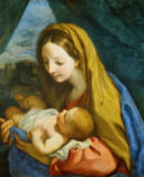 Carlo Maratti - Mary with child