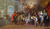 Charles Lebrun - Louis XIV / Treaty of Nimwegen