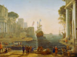 Claude Lorrain - Ulysses hands Chryseis over to her Father