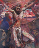 Lovis Corinth - The Red Christ, 1922
