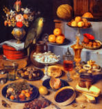 Georg Flegel - Large Food Display