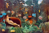 Henri J.F. Rousseau - The Dream