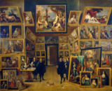David Teniers - Archduke Leopold Wilhelm in his picture gallery in Brussels