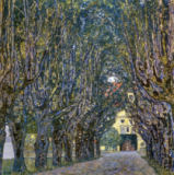 Gustav Klimt - Avenue in the Park of Kammer Mansion, Upper Austria