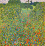 Gustav Klimt - Field of Poppies