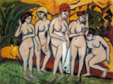 Ernst-Ludwig Kirchner - Women in the bath