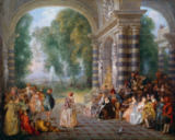 Jean Antoine Watteau - Ball Pleasures