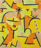 Paul Klee - Figur in gelb
