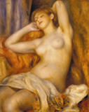 Pierre Auguste Renoir - Sleeping woman