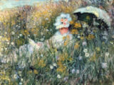 Claude Monet - In der Blumenwiese