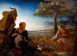 Philipp Otto Runge - Rest on the Flight into Egypt
