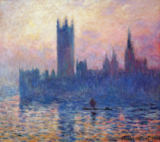 Claude Monet - Das Parlament in London bei Sonnenuntergang, 1903