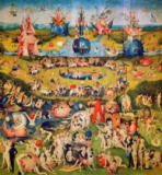 Hieronymus Bosch - The Garden of Earthly Delights, Centre panel of the triptych