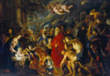 Peter Paul Rubens - Adoration of the Magi, 1610