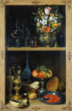 Georg Flegel - Cabinet Picture with Fruit and Cups