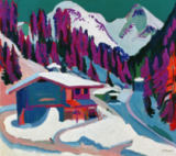 Ernst-Ludwig Kirchner - Wildboden in the snow