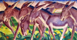 Franz Marc - Eselsfries