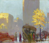 George Benjamin Luks - Fifth Avenue, New York