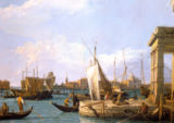 Giovanni Antonio Canaletto - The Dogana in Venice