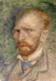 Vincent van Gogh - Selfportrait, Painted in Paris (1886/88)