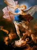 Luca Giordano - The Archangel Michael