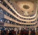 Gustav Klimt - Auditorium of the Old Burgtheater in Vienna