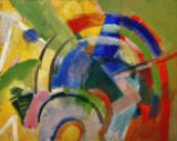 Franz Marc - Small composition IV