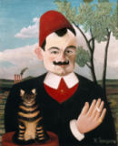 Henri J.F. Rousseau - The writer Pierre Loti