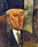 Amedeo Modigliani - Bildnis Max Jacob