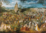 Pieter Brueghel der Ältere - Christ Carrying the Cross