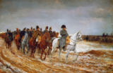 Jean-Louis Ernest Meissonier - Napoleon (1769-1821) on Campaign in 1814, 1864