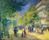 Pierre Auguste Renoir - The grand Boulevards
