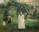 Berthe Morisot - The Butterfly Hunt, 1874