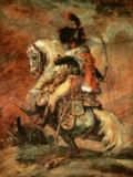 Théodore Géricault - Officer of the Imperial Guard on Horseback