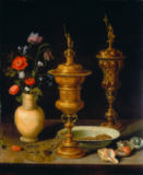 Clara Peeters - Stilllife with flowers and goblets