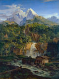 Ludwig Adrian Richter - The Watzmann