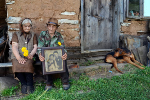 50 years together of artist robert semnic, Old, Dog, Work, Idea, Aging, Photo, Tried, Better