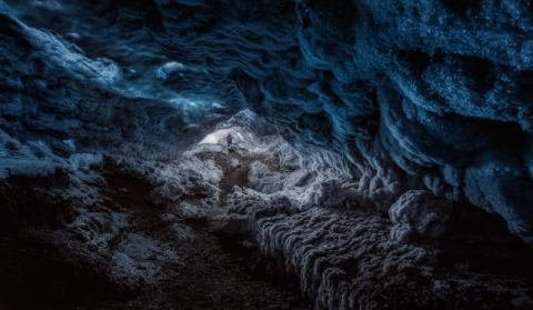 Exploring a Fronzen Blue World of artist Javier de la Torre, Ice, Cave, Always, Shocks, Inside, Europe, Biggest, Glacier