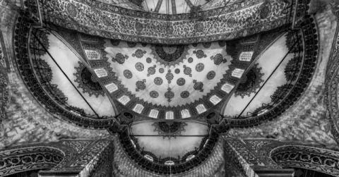 Istanbul - Roof art of artist Michael Jurek, Arch, Soul, Roof, Holy, Sacred, Mosque, Spirit, Turkey
