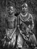 Joxe Inazio Kuesta Garmendia - Two karo tribe girls (Omo Valley-Ethiopia)
