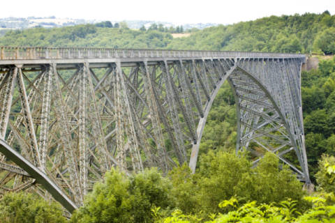 Viaur Viaduct, Aveyron Department, France of artist Richard Semik, Midi, Style, Viaur, Travel, Bridge, Europe, France, Outside