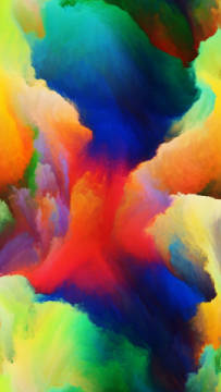 Dreaming of Colors of artist Andrew Ostrovsky as framed image