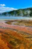 Martin Molcan - Detail view of Grand prismatic colorful hot spring, Yellowstone