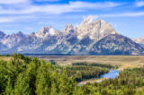 Martin Molcan - Grand Teton mountains scenic view with Snake river