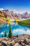 Martin Molcan - Landscape view of Moraine lake in Canadian Rocky Mountains