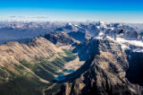 Martin Molcan - Mountain range view from Mt Temple, Banff NP, Alberta, Canada